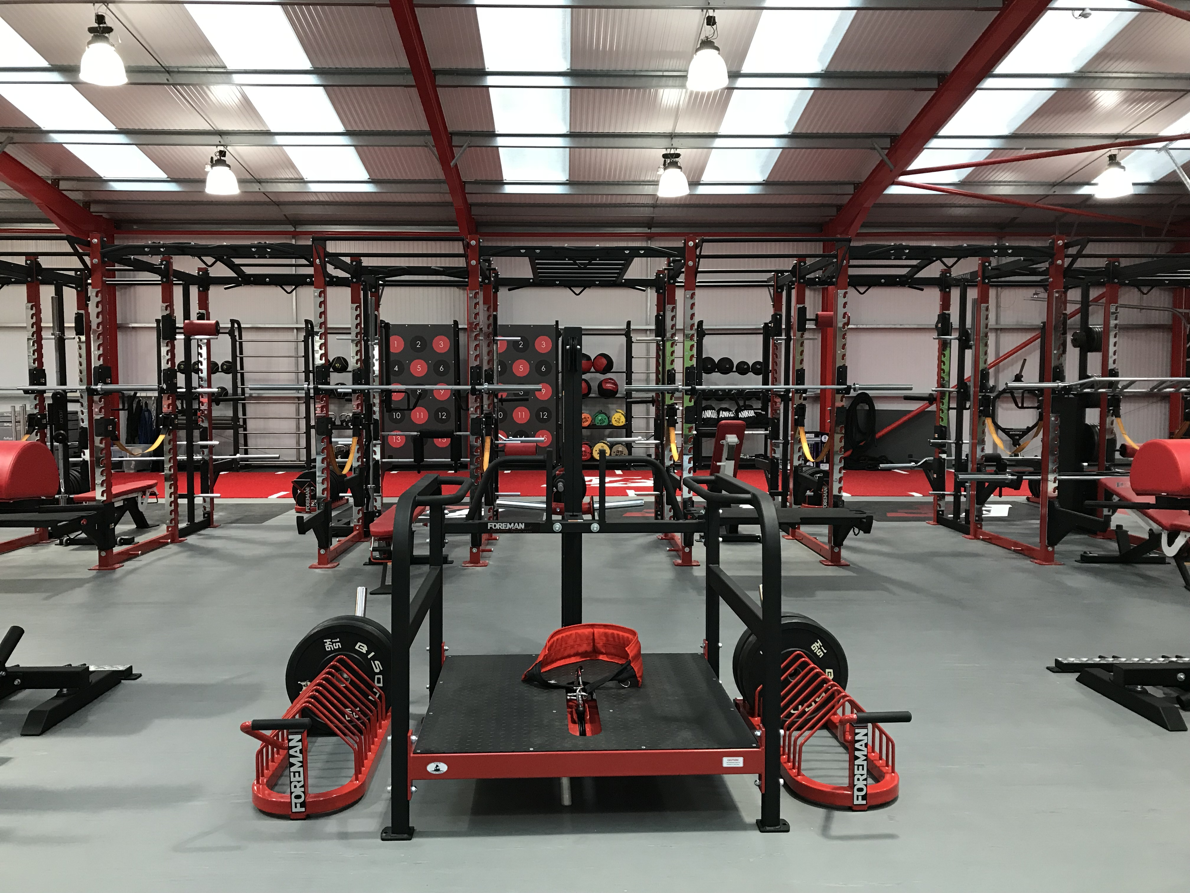 The Athlete Factory Chester   Gym in Chester   Equipment