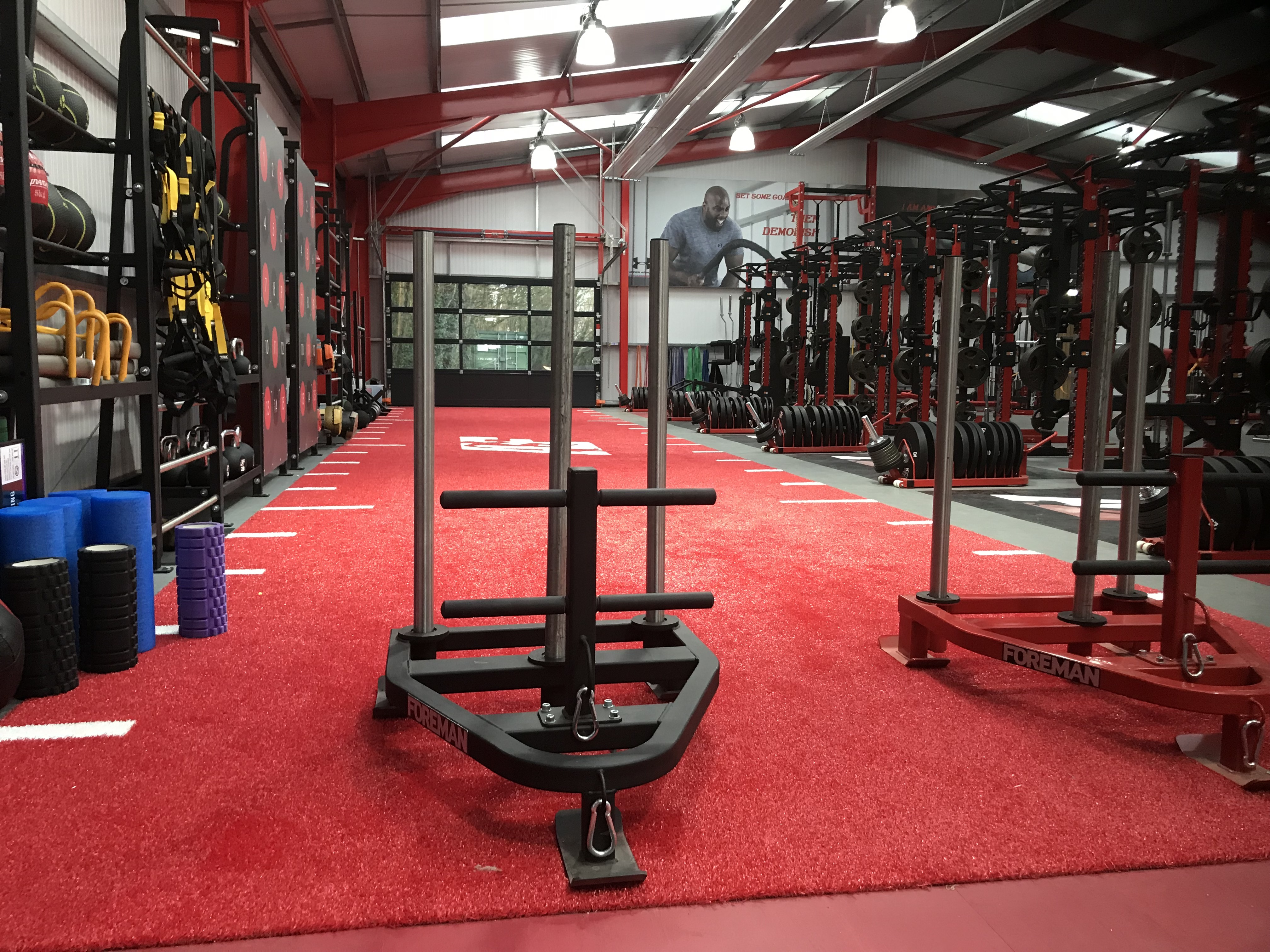 The Athlete Factory Chester   Gym in Chester   Weights