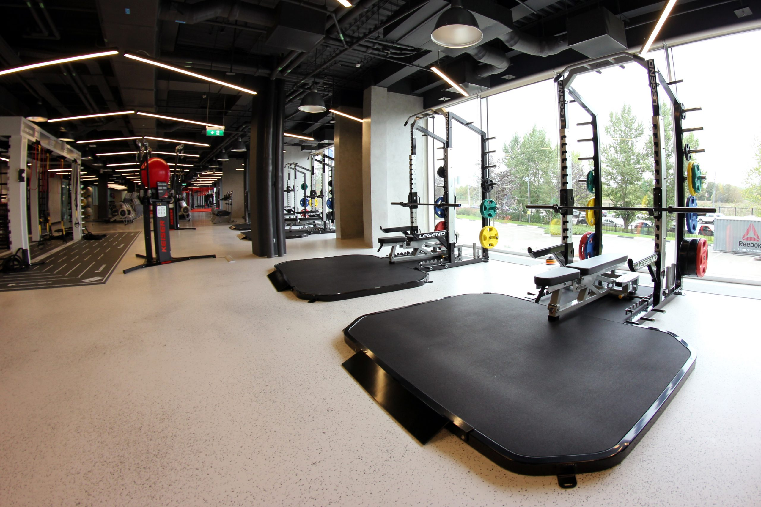 The Athlete Factory Chester   Gym in Chester   Track